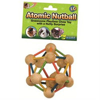 Ware Manufacturing SWM03227 Atomic Nut Ball Chew Toy