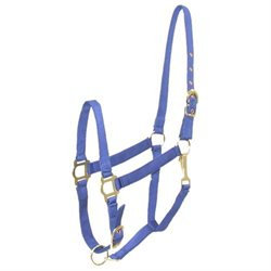 Choice Brands Nylon Halter Blue Cobb - 401086-3100-3660