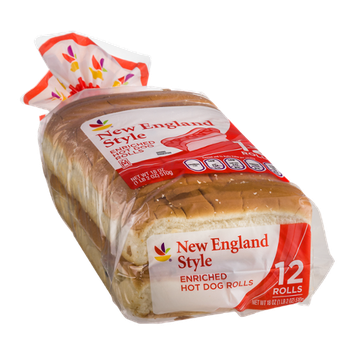 Ahold New England Style Hot Dog Rolls