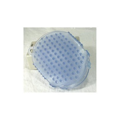 Imported Horse & supply Gel Scrubbies Blue 6 Inch - 112231