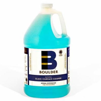 Boulder Cleaners - NEW-GLASS-1G-4CS - BOULDER® Herbal Peppermint Glass + Surface Cleaner