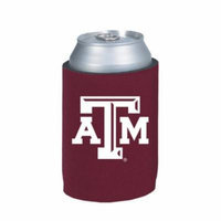 Texas A Aggies Maroon Can Cooler