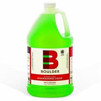 Boulder Cleaners - NEW-DISH-A-1G-4CS - BOULDER® Apple Orchard Dishwashing Liquid