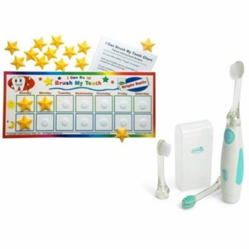 Kenson Kids Brush My Teeth Reward Chart with Vibrating Toothbrush