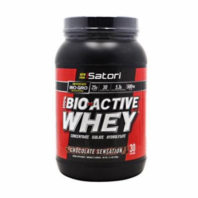 iSatori Bio-Active Whey, Chocolate Sensation, 2.31 pounds (30 Servings)