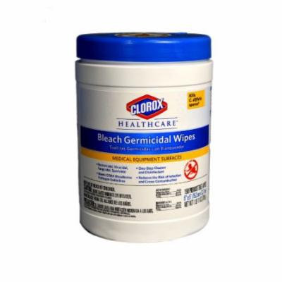 Clorox 30577 Healthcare Bleach Germicidal Wipe (150 Count)