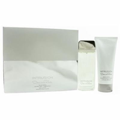 Intrusion Set-Eau De Parfum Spray 3.3 Oz & Body Lotion 6.7 Oz By Oscar