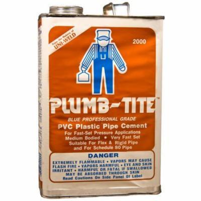 Gallon Plumb-Tite 2000 Wet Application Blue Cements