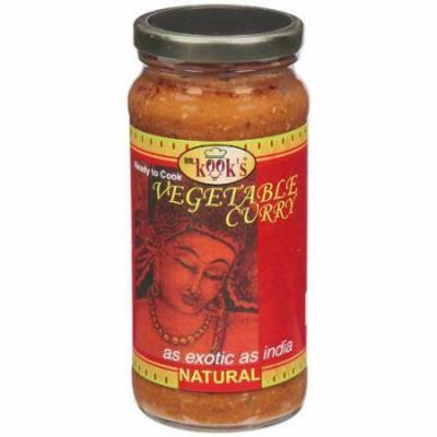 Mr Kooks Curry, Vegetable