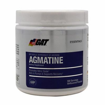 GAT Agmatine Unflavored - 100 Servings