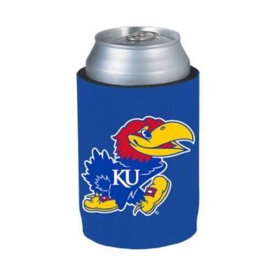 Kansas Jayhawks Blue Can Cooler