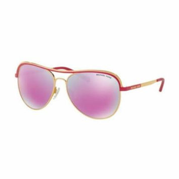 MICHAEL KORS Sunglasses MK1012 11104X Gold/Fuchsia 58MM
