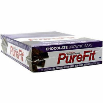 PureFit Chocolate Brownie Nutrition Bars, 15 count