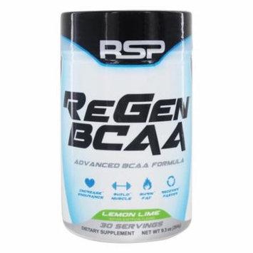 RSP Nutrition - ReGen Advanced BCAA Formula Lemon Lime - 9.3 oz.