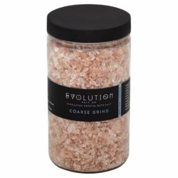 Evolution Salt Coarse Grind Himalayan Crystal Bath Salt, 40 Oz
