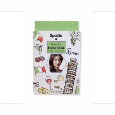 My Spa Life Pellicule Facial Wraps - Merlot & Antioxidants - Set of 3