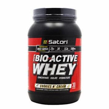 iSatori Bio-Active Whey, Cookies & Cream, 2.31 pounds (30 Servings)