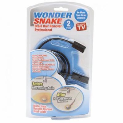 Wonder Snake Drain Hair Remover Kit as Seen on TV - 3 Kits + FREE SHIPPING!