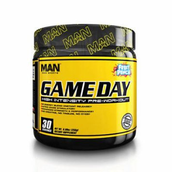 MAN Sports Game Day, Fruit Punch, 30 Servings