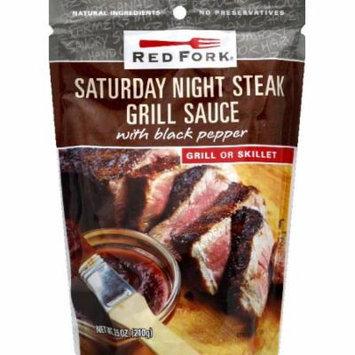 Red Fork Grill Sauce, Saturday Night Steak