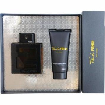 Fan di Fendi by Fendi for Men - 2 Pc Gift Set 3.3oz EDT Spray, 3.3oz All Over Shampoo