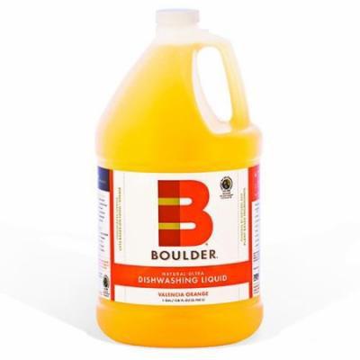Boulder Cleaners - NEW-DISH-V-1G-4CS - BOULDER® Valencia Orange Dishwashing Liquid
