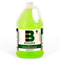 Boulder Cleaners - NEW-BATH-1G-4CS - BOULDER® Lemon Lime Zest Bathroom Cleaner