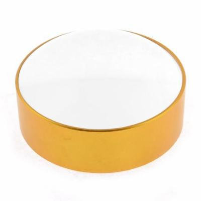 Gold Tone Plastic Frame Pocket 50mm Diameter Lens 4X Magnifier