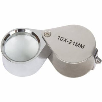 Stalwart 10x Jeweler's Eye Loupe Magnifier with Case