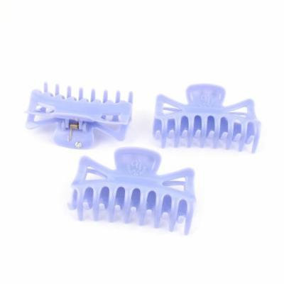 3Pcs Purple Plastic Hair Jaw Clip Claw Clamp Hairpin for Women