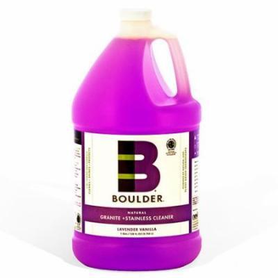 Boulder Cleaners - NEW-GRSS-1G-4CS - BOULDER® Lavender Vanilla Granite + Stainless Steel Cleaner