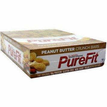 PureFit Peanut Butter Crunch Nutrition Bars, 15 count