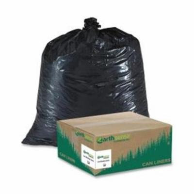 Webster RECYCLED LARGE TRASH AND YARD BAGS, 33GAL, .9MIL, 32.5 X 40, BLACK, 80/CARTON RNW1TL80V