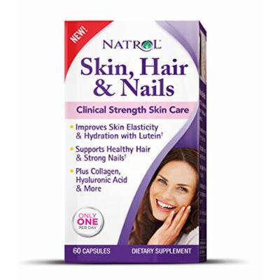 Natrol Skin and Hair Nails with Lutein Capsules, 60 Count