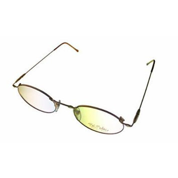 Bob Mackie Modified Oval Unisex Tortoise Eyewear Frame BM 777