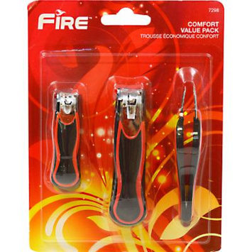 Fire Comfort Clipper and Tweezers Value Pack