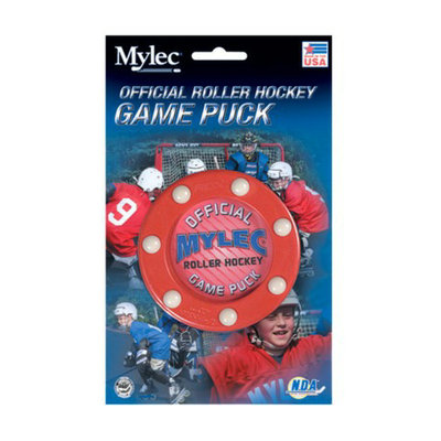 Mylec Roller Hockey Game Puck - 3 pk.