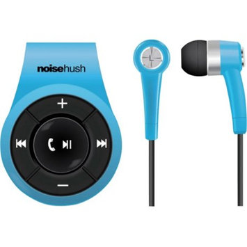 NoiseHush NS560 Clip-On Bluetooth Stereo Headset- Blue