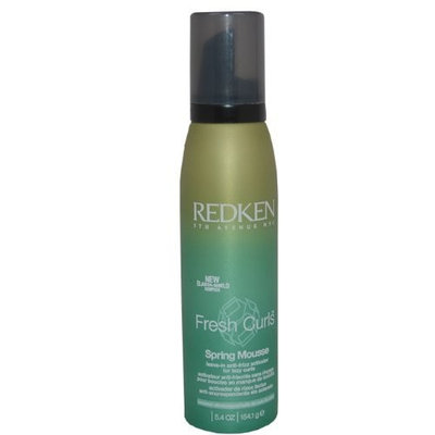 Fresh Curls Spring Mousse By Redken for Unisex, 5.4 Ounce