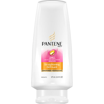 Pantene Pro-V Curly Hair Series Straightening Conditioner