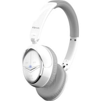 Klipsch Image ONE Bluetooth On-Ear Headphones - Stereo - White - Mini-phone - Wireless - Bluetooth - 32.8 ft