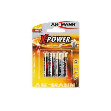 Ansmann 5015653 Ansmann X-Power Alkaline Battery AAA -4 -Pack