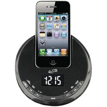 iLive Alarm Clock FM Radio for iPod iPhone