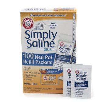 Simply Saline Plus Neti Pot Refill Packets