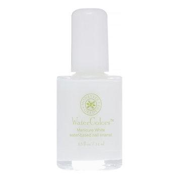 Honeybee Gardens - WaterColors Water Based Nail Enamel Manicure White - 0.5 oz.