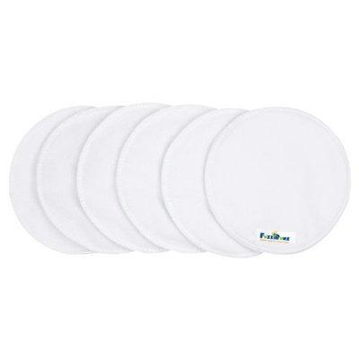 FuzziBunz Nursing Pads, White, 6 Pack (Discontinued by Manufacturer)