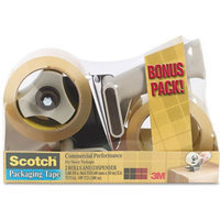 3m 3M Scotch Premium Packaging Tape w/Dispenser