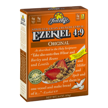 Food For Life Ezekiel 4:9 Sprouted Grain Crunchy Cereal