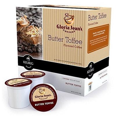 Keurig Gloria Jeans K-Cup Butter Toffee Coffee K-Cup 18 K-cups