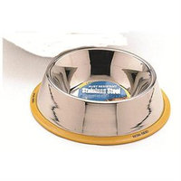 Topdawg Pet Supply Ethical Pet Stainless Steel Mirror Finish No Tip Dish